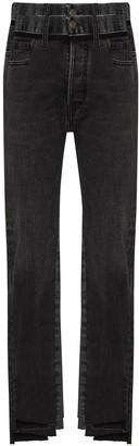 Maison Margiela Panelled Step-Hem Slim-Fit Jeans