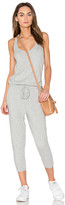 Bobi Supreme Jersey Sleeveless Jumpsuit in Gray. - size L (also in M)