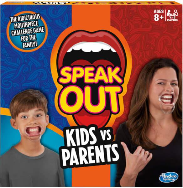 Hasbro Speak Out: Kids Vs. Parents Game