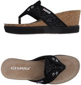 Superga Toe strap sandals