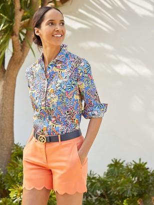 J.Mclaughlin Lois Shirt in Mini Freshfield
