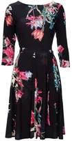 Wallis Black Tulip Fit and Flare Dress
