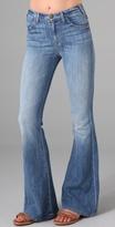 Current/elliott The High Waist Bell Jeans