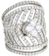 Ring 18K Diamond Wide Band