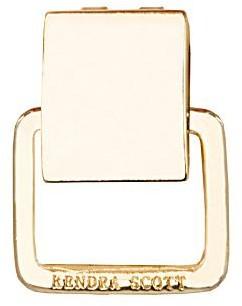 Kendra Scott 1/2 Inch Gold Bracelet Flip Extender