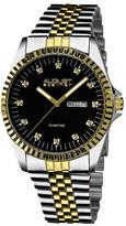 August Steiner Men&s Diamond Quartz Bracelet Watch - 0.06 ctw