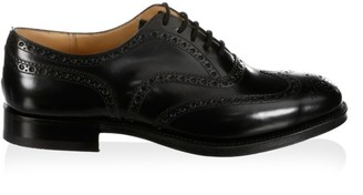 Church's Brogued Leather Oxfords