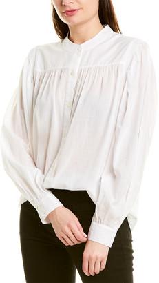 Frame Voluminous Button-Up Shirt