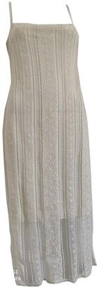 Christian Dior Ecru Viscose Dresses