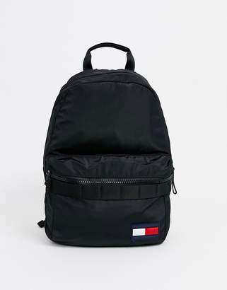 Tommy Hilfiger backpack with logo in black