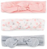 Starting Out Baby Girls 3-Pack Knotted Headwrap Set