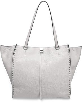 Rebecca Minkoff Studded Pebbled-leather Tote