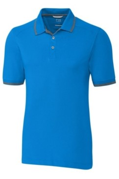 Cutter & Buck Men's Big & Tall Advantage Tipped Polo