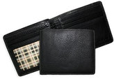 Boconi Men's 'Tyler' Tumbled Leather Billfold - Black