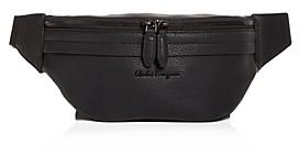 Salvatore Ferragamo Firenze Leather Belt Bag