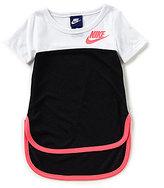 Nike Little Girls 2T-6X Short-Sleeve Colorblock Top