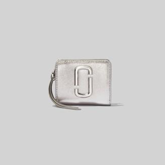 Marc Jacobs The Snapshot Metallic DTM Mini Compact Wallet