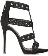 Giuseppe Zanotti Strappy Sandals Black Suede