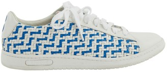Le Coq Sportif White Leather Trainers