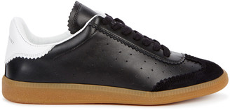 Isabel Marant Bryce Black Leather Sneakers