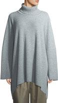 eskandar Ribbed Knit Cashmere Turtleneck Sweater