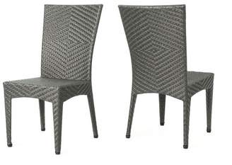 Christopher Knight Home Brooke 2pk Wicker Patio Chairs