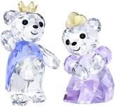 "Swarovski Crystal ""Kris Bear- Prince & Princess"" Figurine New 2018"