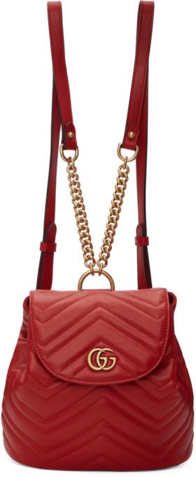 5d98a3fbc91b9f Gucci Red Handbags - ShopStyle