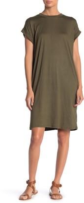 Cotton Emporium Cuff Sleeve T-Shirt Dress