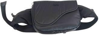 Christian Dior Saddle Black Synthetic Bags