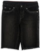 True Religion Boys' Geno Denim Shorts