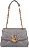 Dolce & Gabbana Devotion Quilted Leather Shoulder Bag