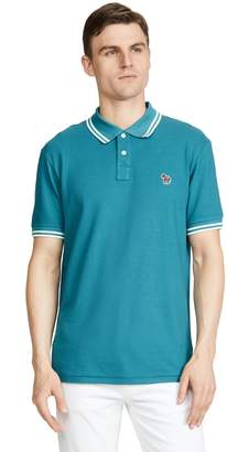 Paul Smith Regular Fit Polo with Zebra Patch