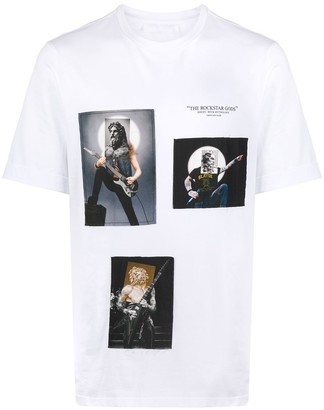 Neil Barrett The Rockstar Gods T-shirt