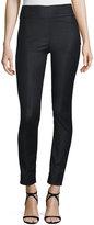 Prabal Gurung Straight-Leg Stretch-Wool Pants, Black