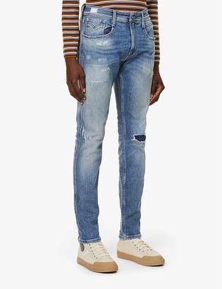 Replay Anbass skinny stretch-denim jeans
