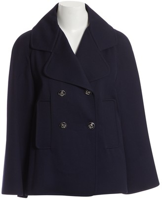 Jean Louis Scherrer Jean-louis Scherrer Navy Wool Jacket for Women