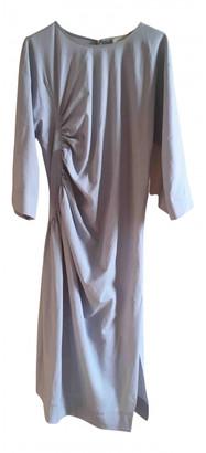 Lemaire Blue Linen Dresses