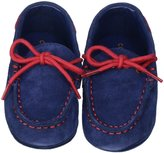Cole Haan Grant Driver Layette (Infant) - Navy/Red-Boys-3 Infant