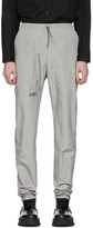 Heliot Emil Grey Tech Track Pants