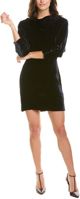 A.L.C. Marin Silk-Blend Sheath Dress