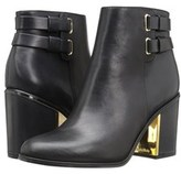 Calvin Klein Womens Cait Siriana Leather Round Toe Mid-calf Fashion Boots Fas....