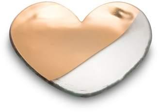 Annieglass Mod Heart Plate