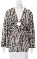 Mara Hoffman Printed Silk Tunic w/ Tags