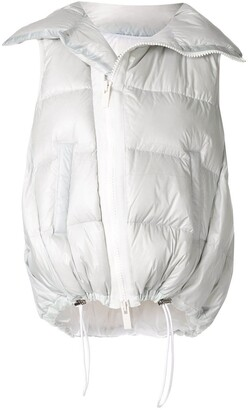 Sacai Padded Zip-Up Gilet