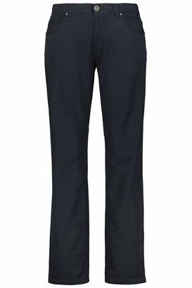 JP 1880 Men's Big & Tall 5-Pocket Colored Stretch Jeans Dark Navy 64 717157 76-64