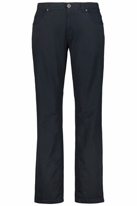JP 1880 Men's Big & Tall 5-Pocket Colored Stretch Jeans Dark Navy 68 717157 76-68