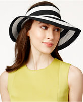 Vince Camuto Striped Roll Up Visor