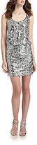 Laundry by Shelli Segal Sequined Mini Dress