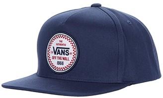 Vans Kids Checker 66 Snapback (Little Kid/Big Kid) (Dress Blues) Baseball Caps